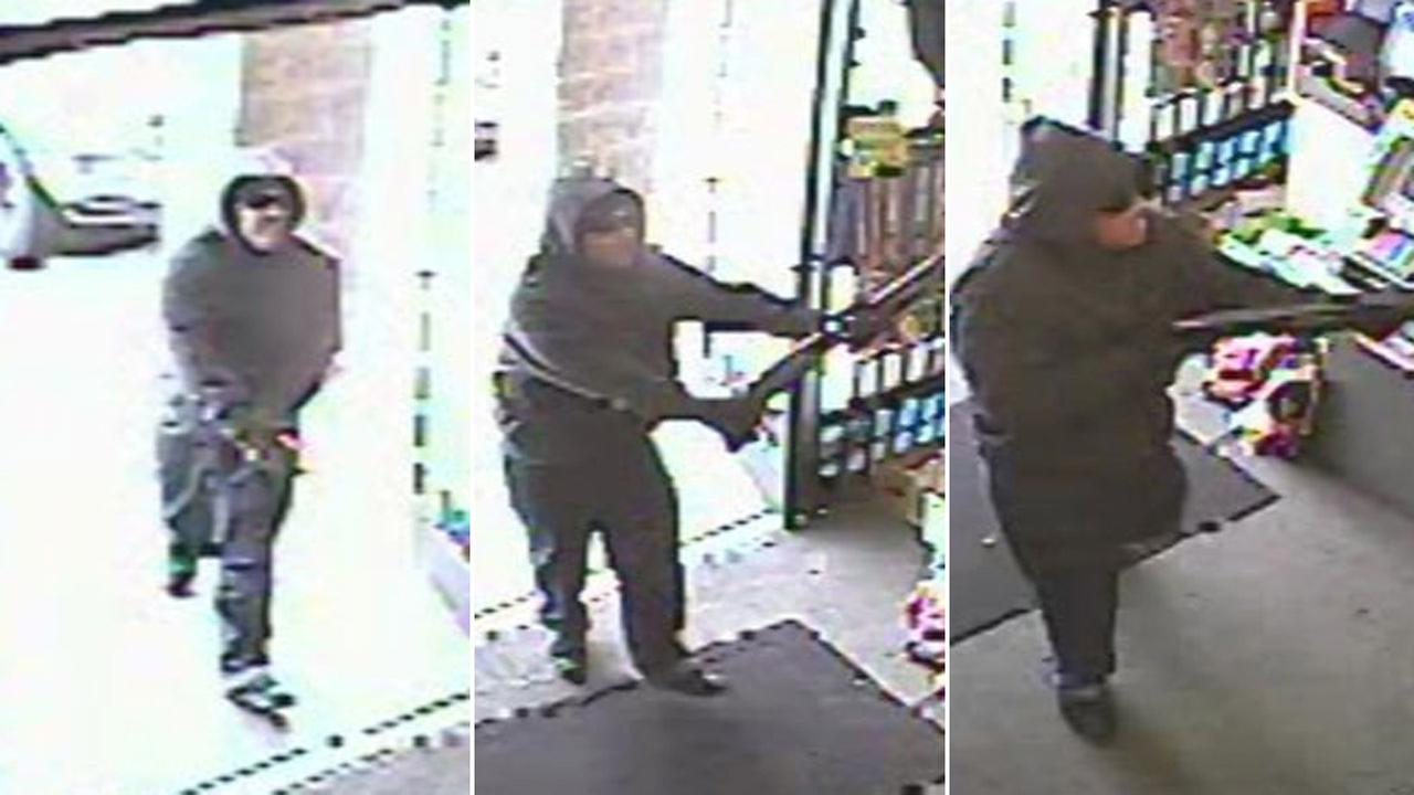Surveillance video released of robbery in San Jose on the 1600 block of North Capitol Avenue.