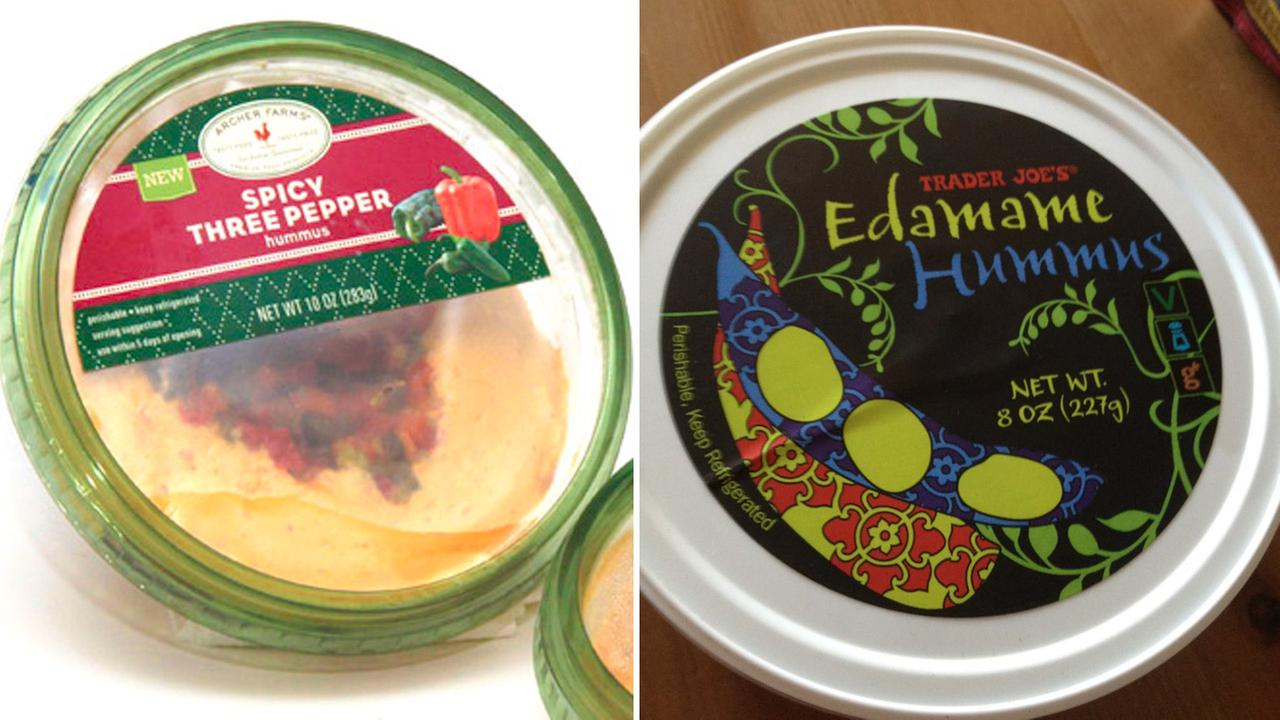 Recalled hummus