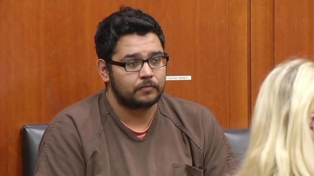 Former camp counselor Edgar Covarrubias appeared in court on Wednesday, May 21, 2015, facing charges of child molestation and possessing and producing child pornography.