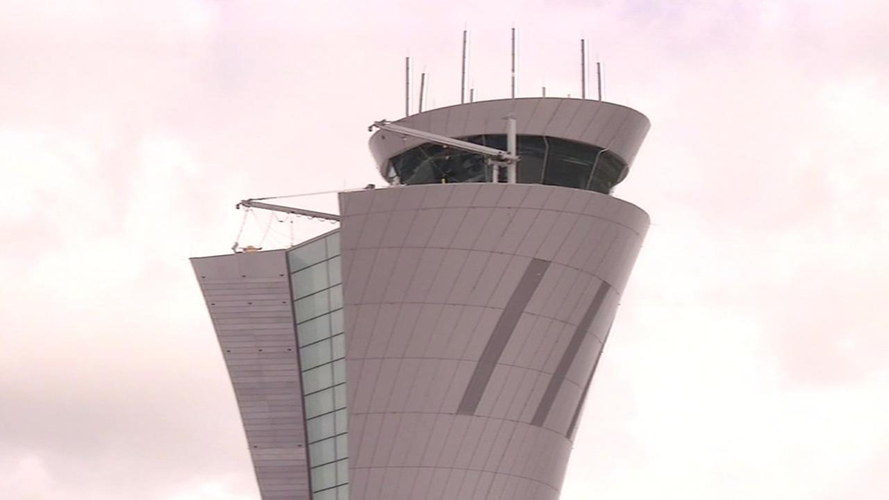 San Francisco International Airport showed off its new Air Traffic Control Tower on May 21, 2015.