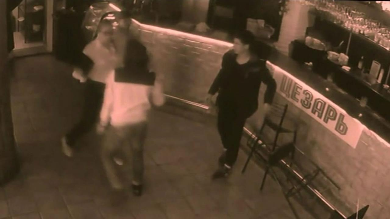 A waitress in Russia is getting a lot of attention after a YouTube video was posted showing her hitting a customer who got a little too handsy.