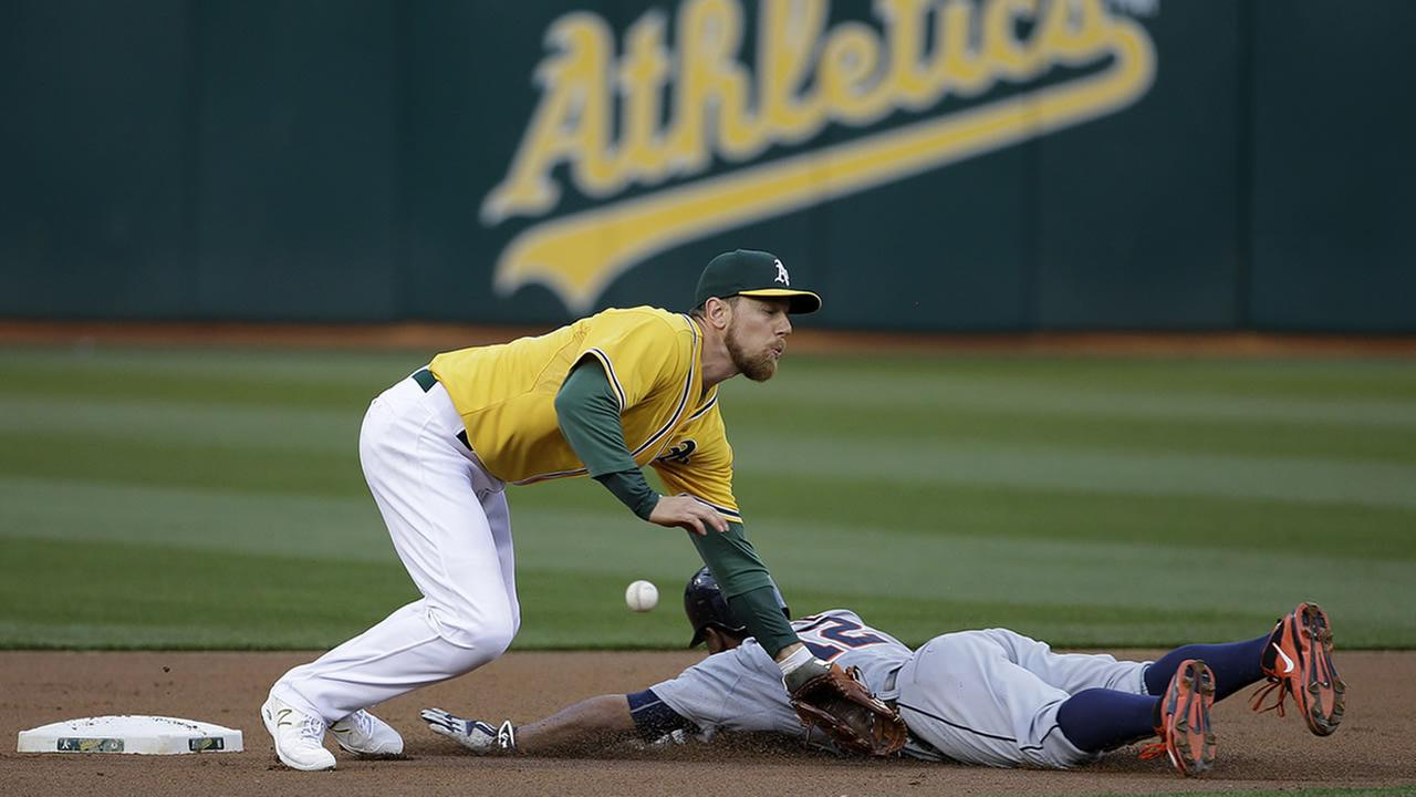 Oakland As 2nd baseman Ben Zobrist