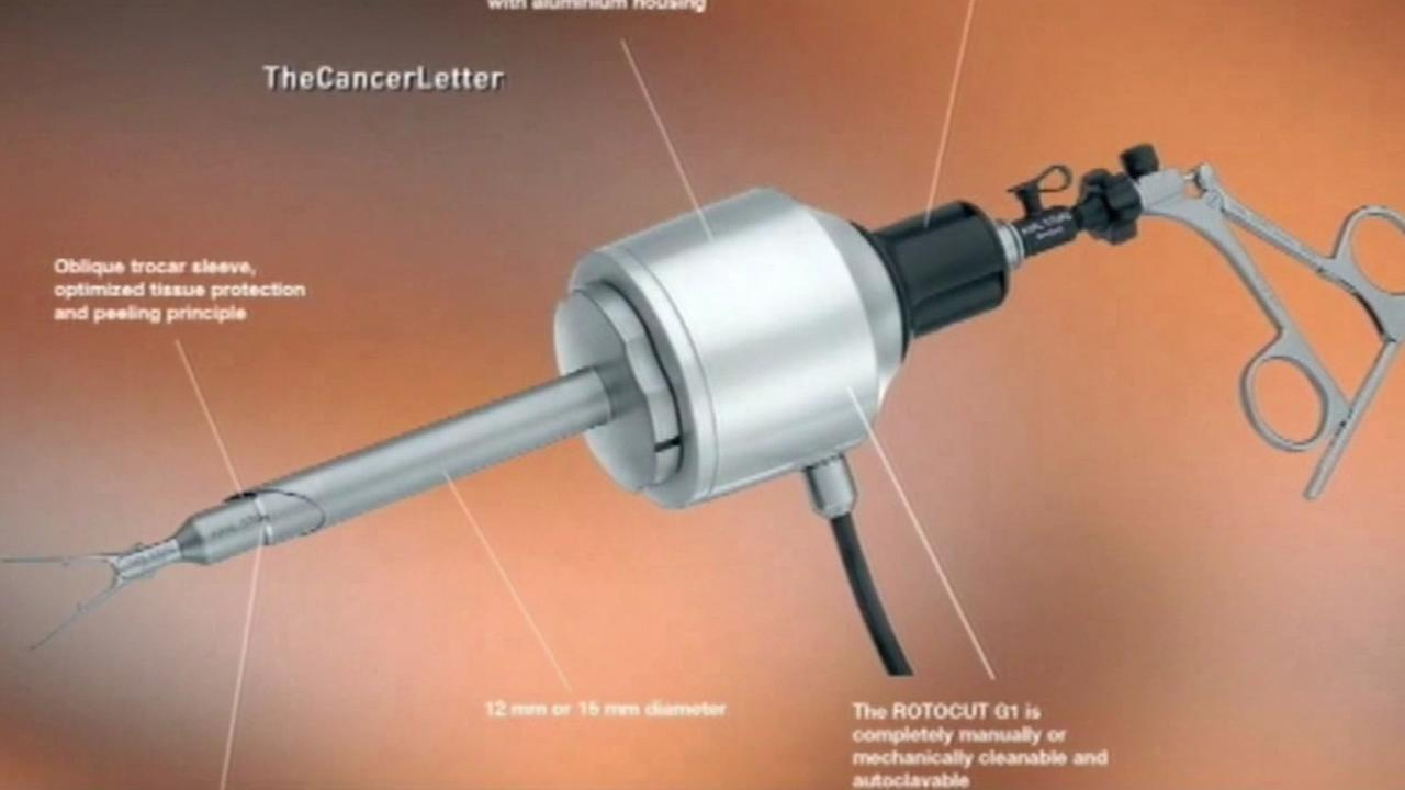 The power morcellator is a surgical device used to remove uterine growths. It is the device is used most in hysterectomies.