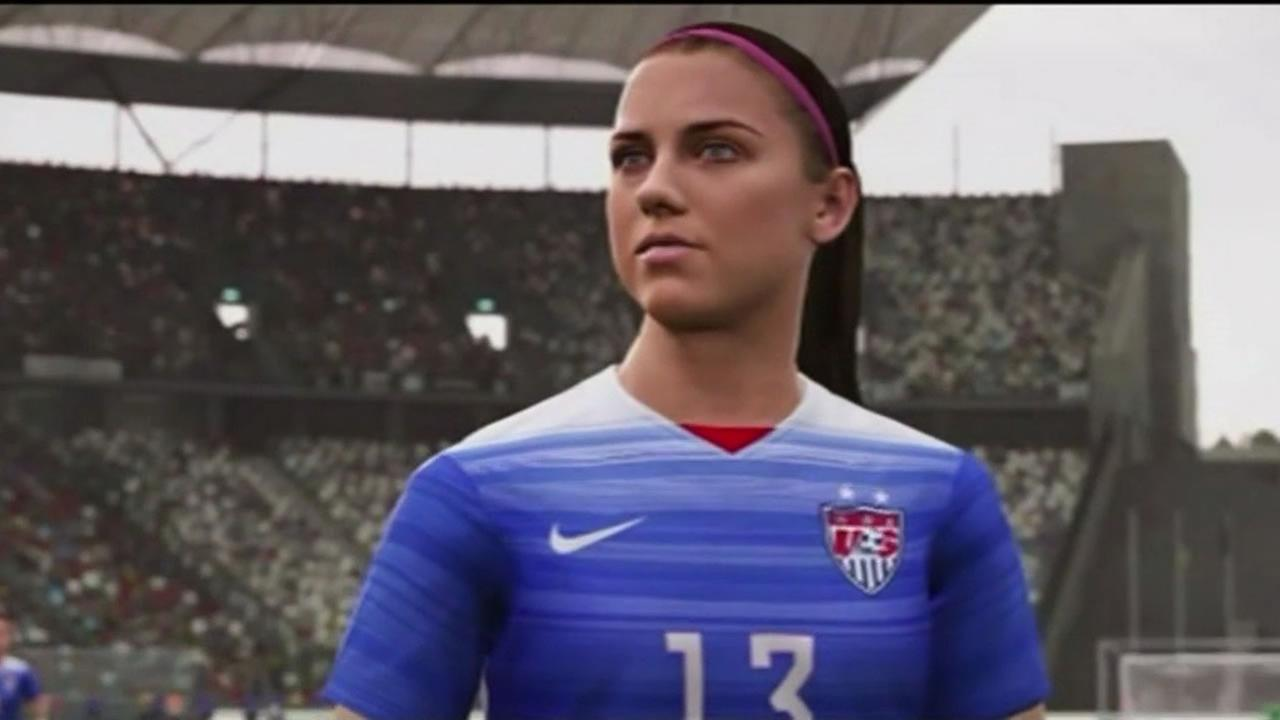 EA announced that womens national soccer teams from around the world will be included as part of the FIFA 16 video game set for release in September.