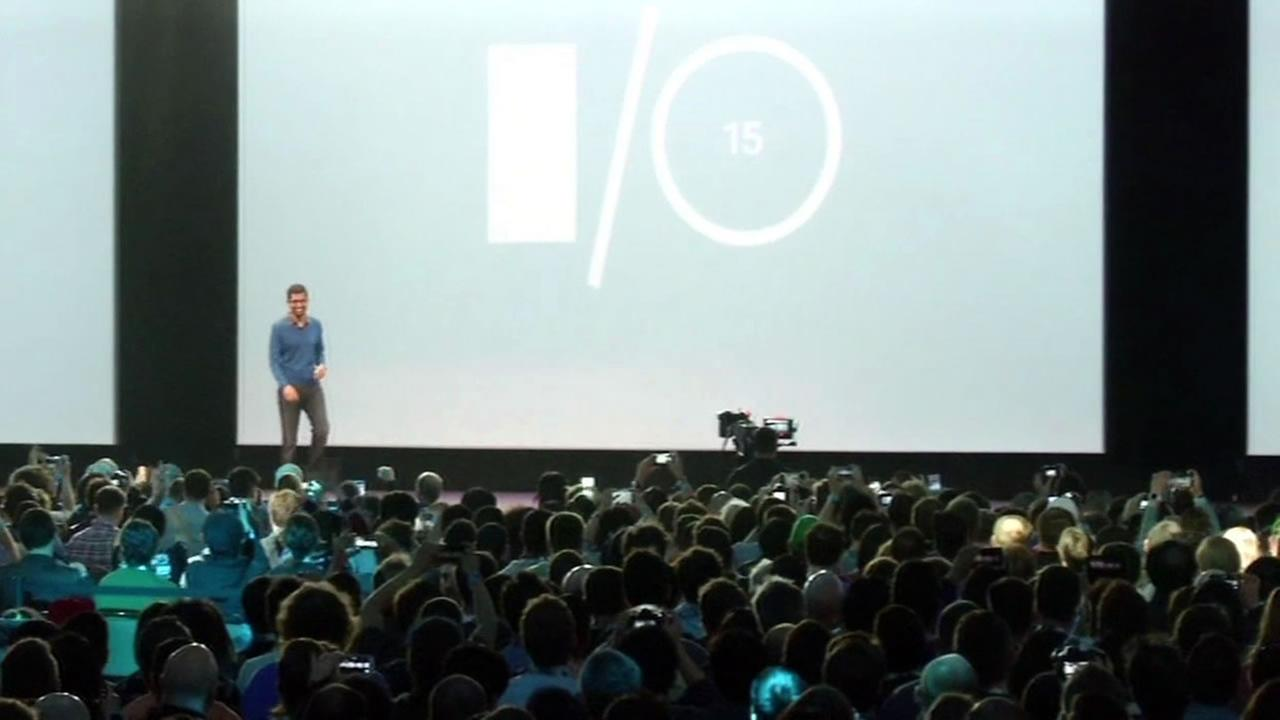Google showed off its latest technology at the annual I/O Developer Conference on Thursday, May 28, 2015 in San Francisco.