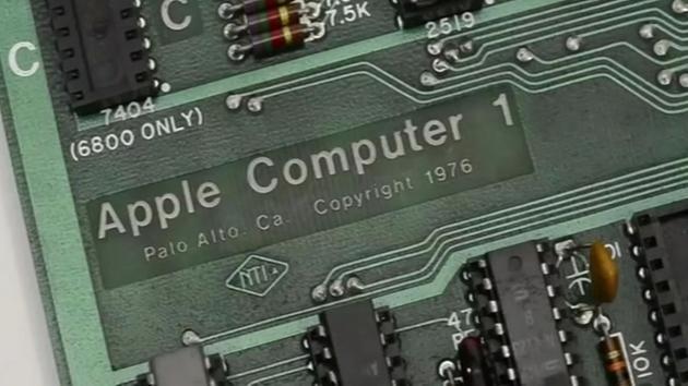 Apple Generation 1 Computer Rare Apple 1 Vintage Computer