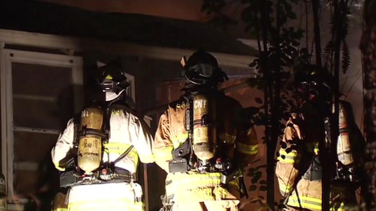 Two-alarm fire at home in Monte Sereno.