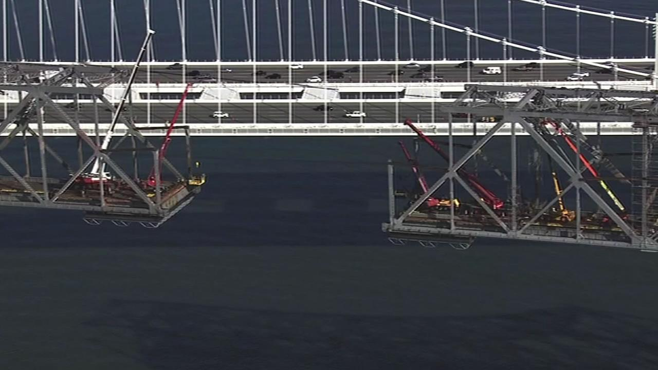 The Bay Bridge Steel Program will distribute the steel from the old eastern span of the Bay Bridge to artists proposing projects that celebrate the bridge and its history.