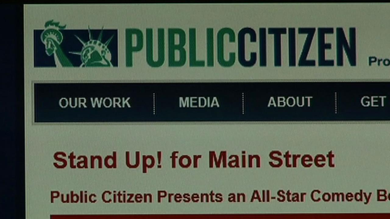 Public Citizen is a consumer rights advocacy group best known for testifying before congress and, when not allowed in the doors, protesting and making speeches out front.