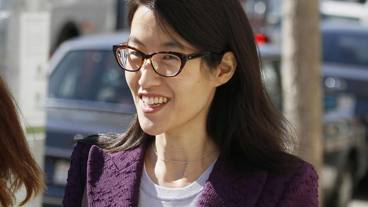 Ellen Pao leaves the Civic Center Courthouse