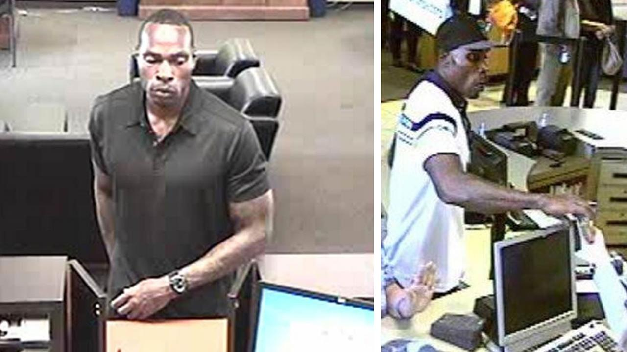 Authorities have arrested a man suspected in several Bay Area bank robberies known as the Clean Cut Bandit, June 5, 2015.