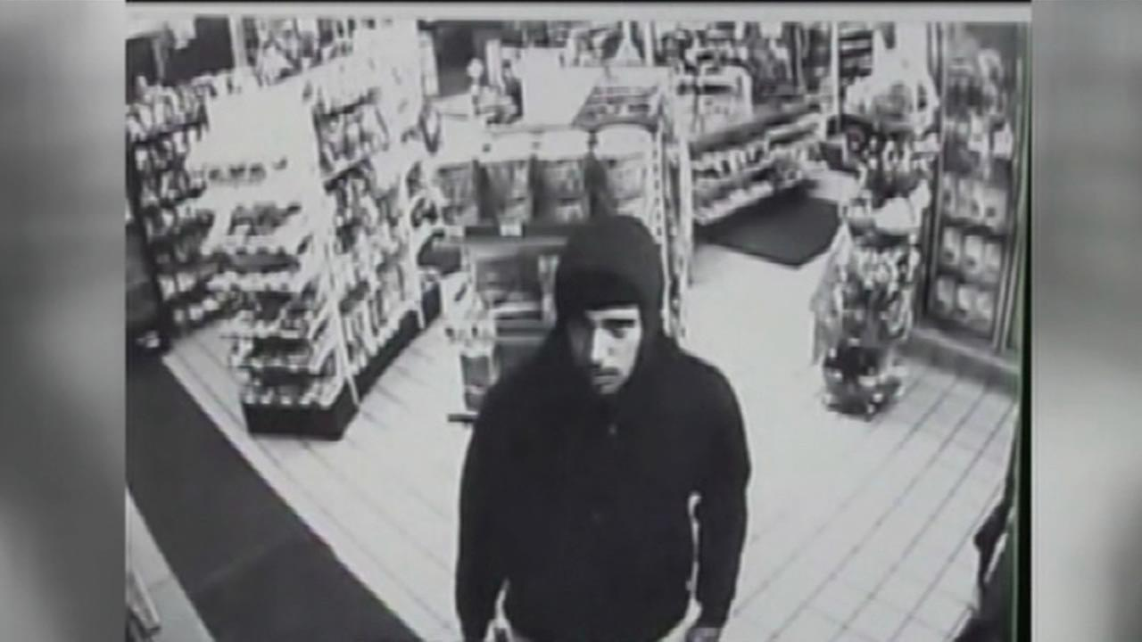 San Francisco police have released surveillance video of a robbery and an attempted murder of a gas station attendant that occurred May 19, 2015.