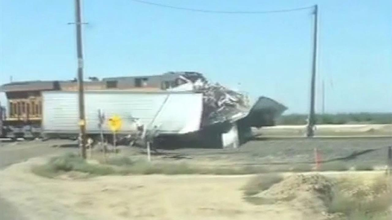 Train crash in Chowchilla.