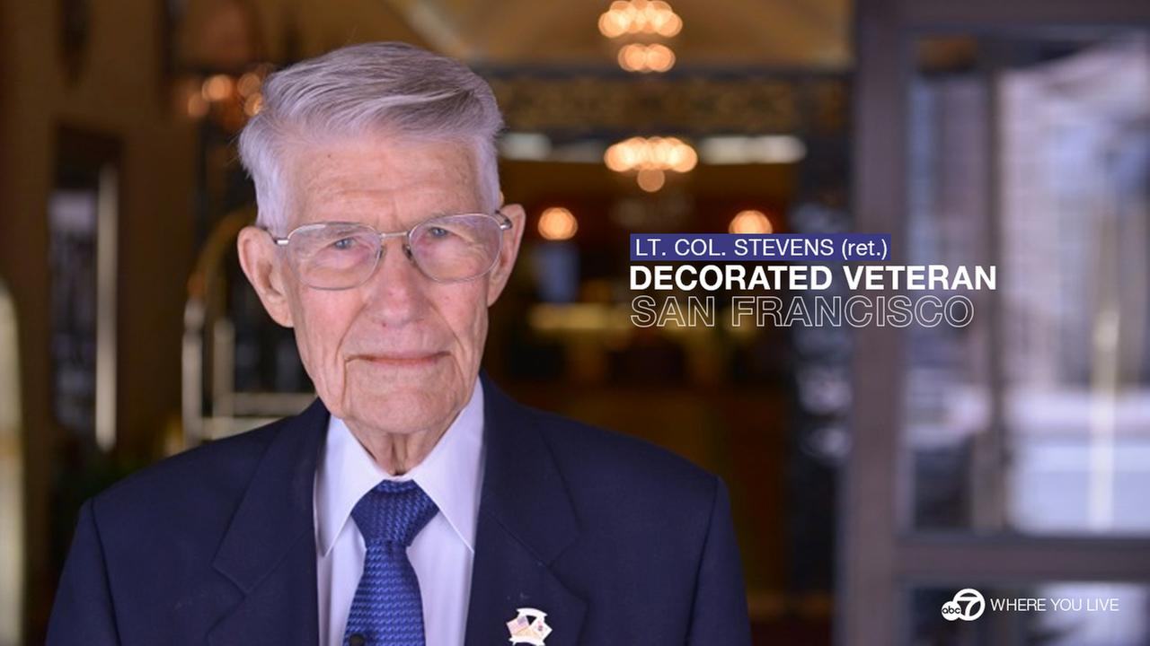 US Marine Corps Retired Lieutenant Colonel John Stevens <span class=meta>(Wayne Freedman)</span>