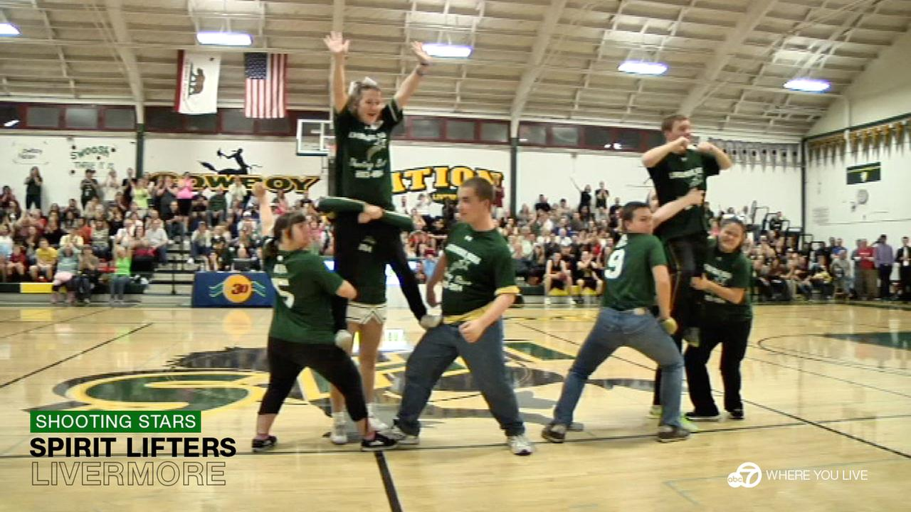 THE SHOOTING STARS: This is no ordinary cheerleading squad! Livermore High Schools Shooting Stars are known to spark the biggest cheers of the night, regardless of the score.