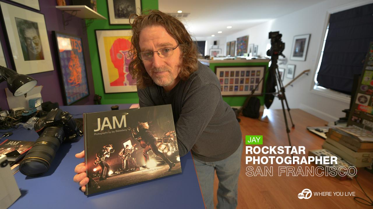 THE ROCK STAR PHOTOGRAPHER:Jay Blakesberg is the biggest rock-n-roll legend youve never seen. Hes made an art of blending into the background to photograph iconic music moments.