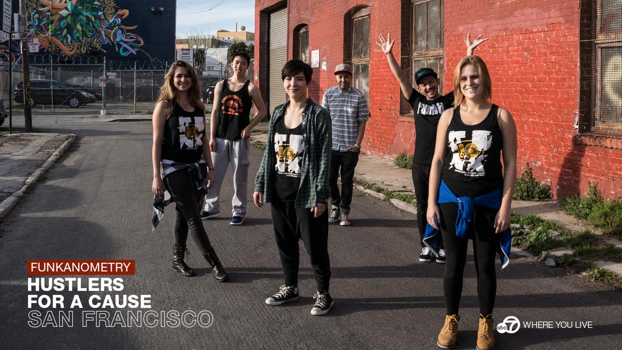 THE HUSTLERS: Funkanometry is a non-profit hip-hop dance troupe that really hustles...for charity. Their mission: to entertain, unite and educate all through the love of dance.