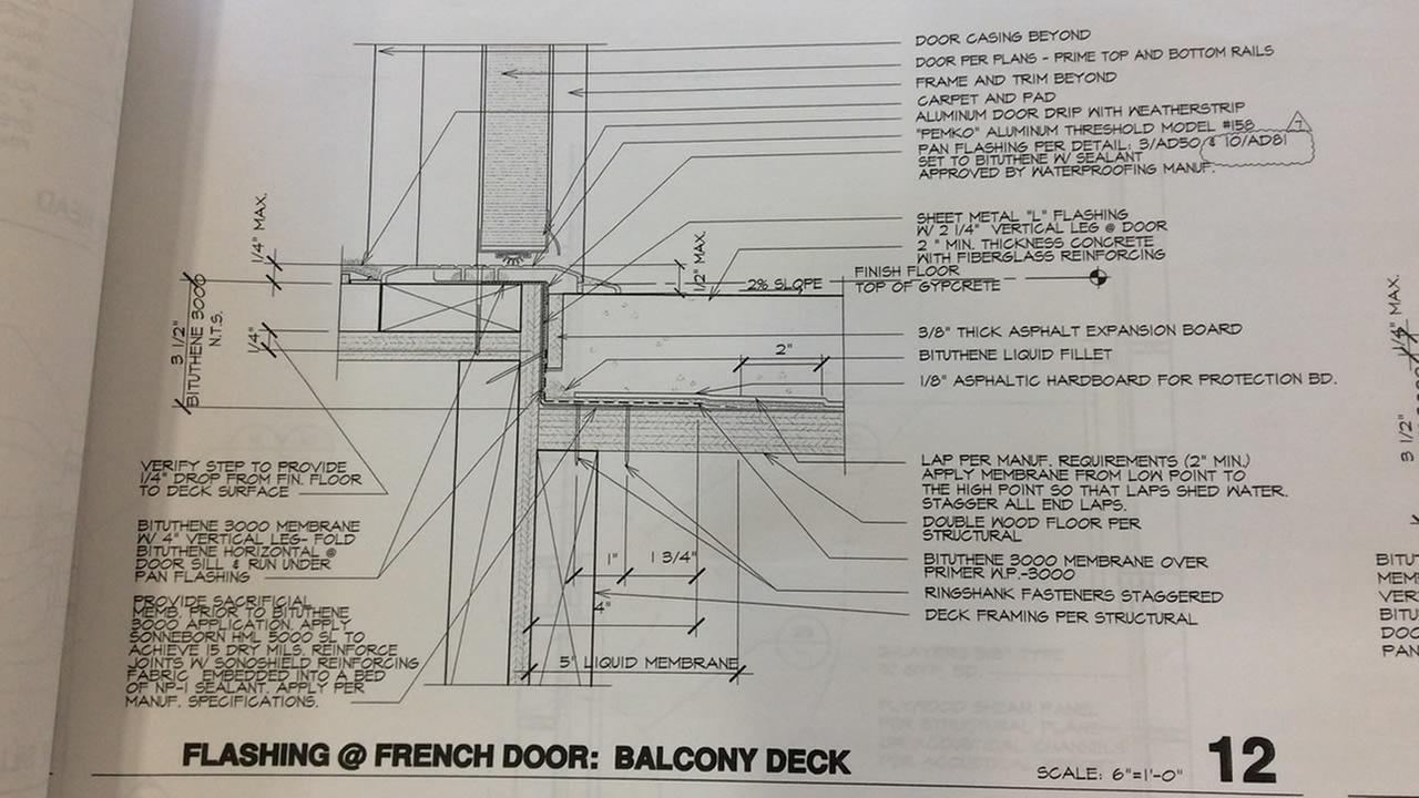 The city of Berkeley released the architectural drawings of the Library Gardens apartment complex on Thursday, June 18, 2015.