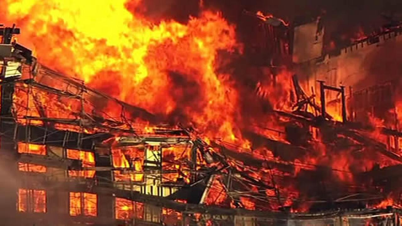 Building On Fire : Abc news mission bay building back on track after
