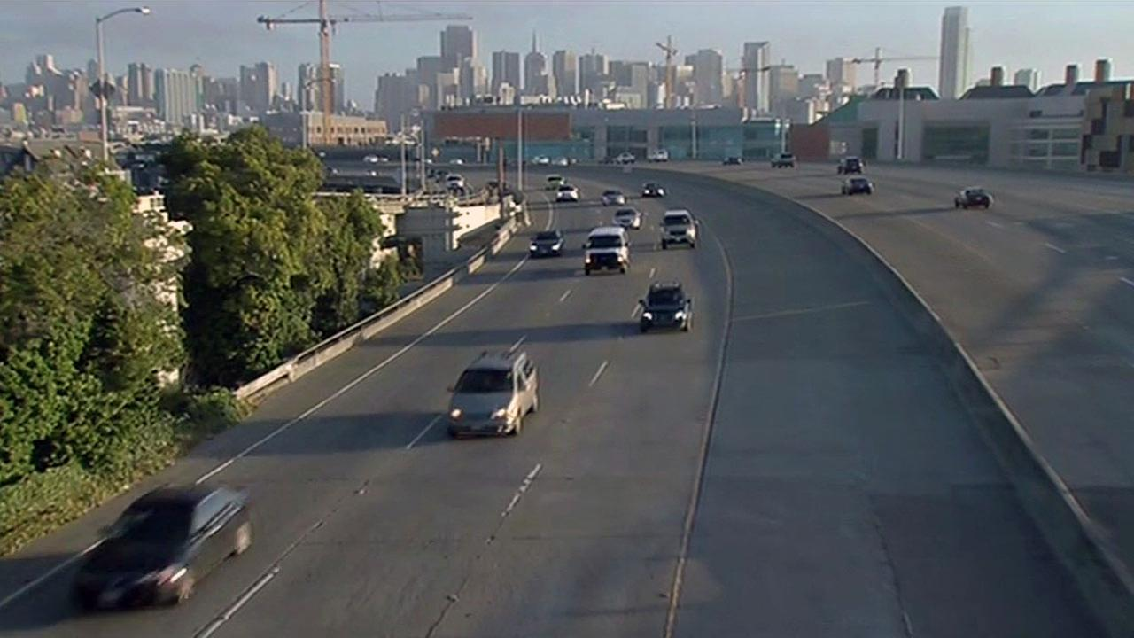 I-280 reopened in San Francisco after weekend construction work.