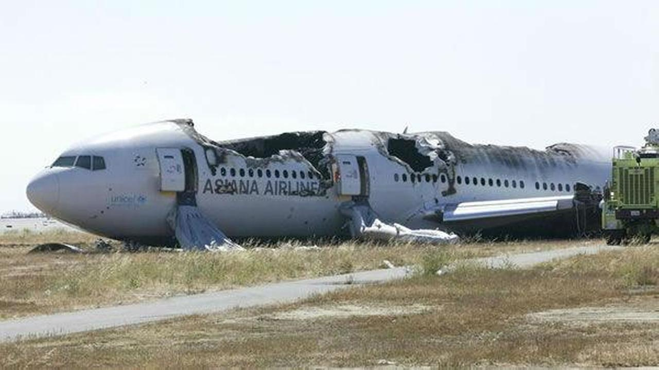 The NTSB released photos from their investigation of Asiana Airlines Flight 214, which crashed at SFO on Saturday.