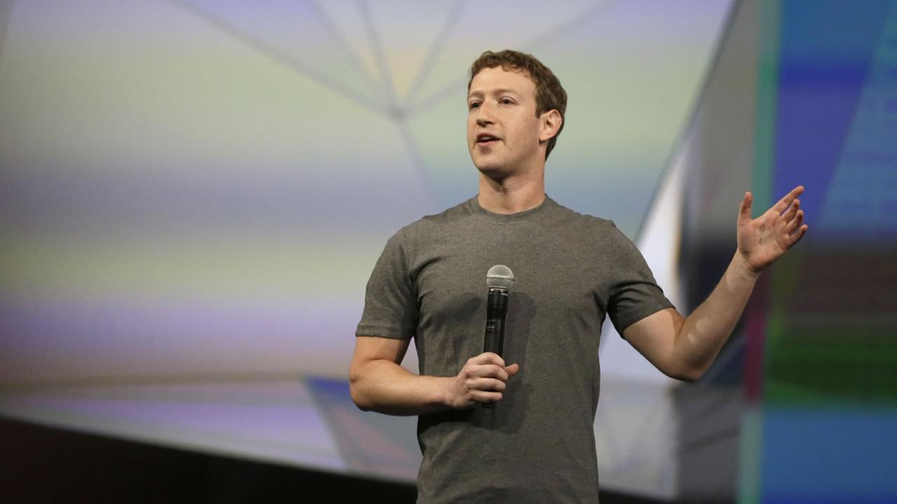 Facebook CEO Mark Zuckerberg. (AP Photo/Ben Margot)
