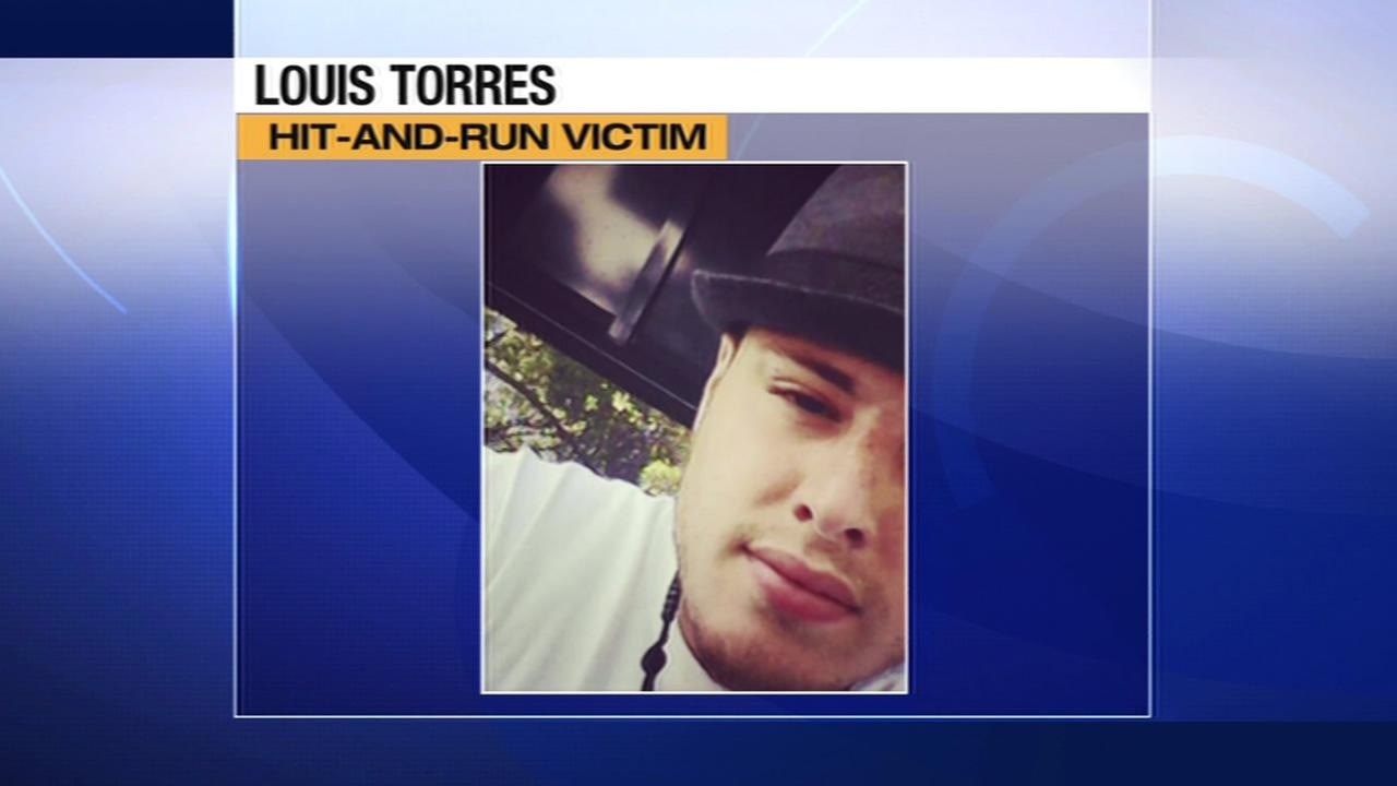 Louis Torres, 23, was critically injured after he was struck by a hit-and-run driver in Benicia, Calif. on June 21, 2015.