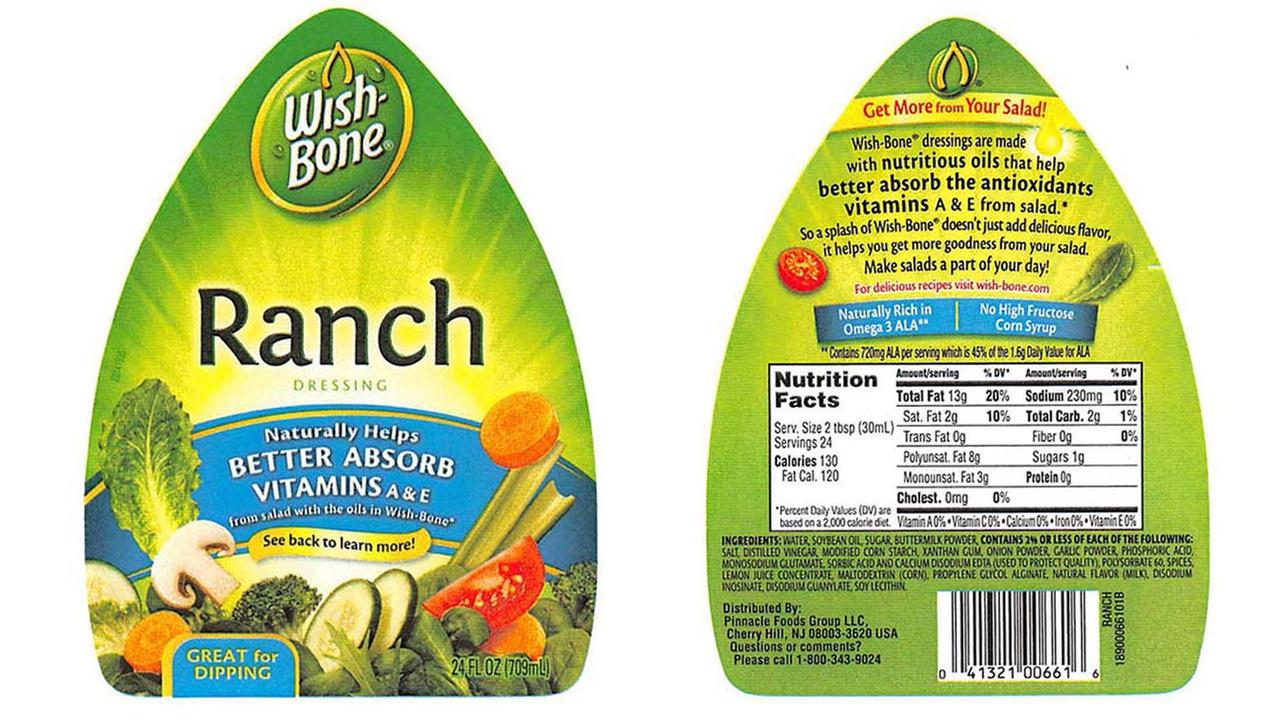Wishbone Ranch Dressing Ranch Dressing 24-ounce