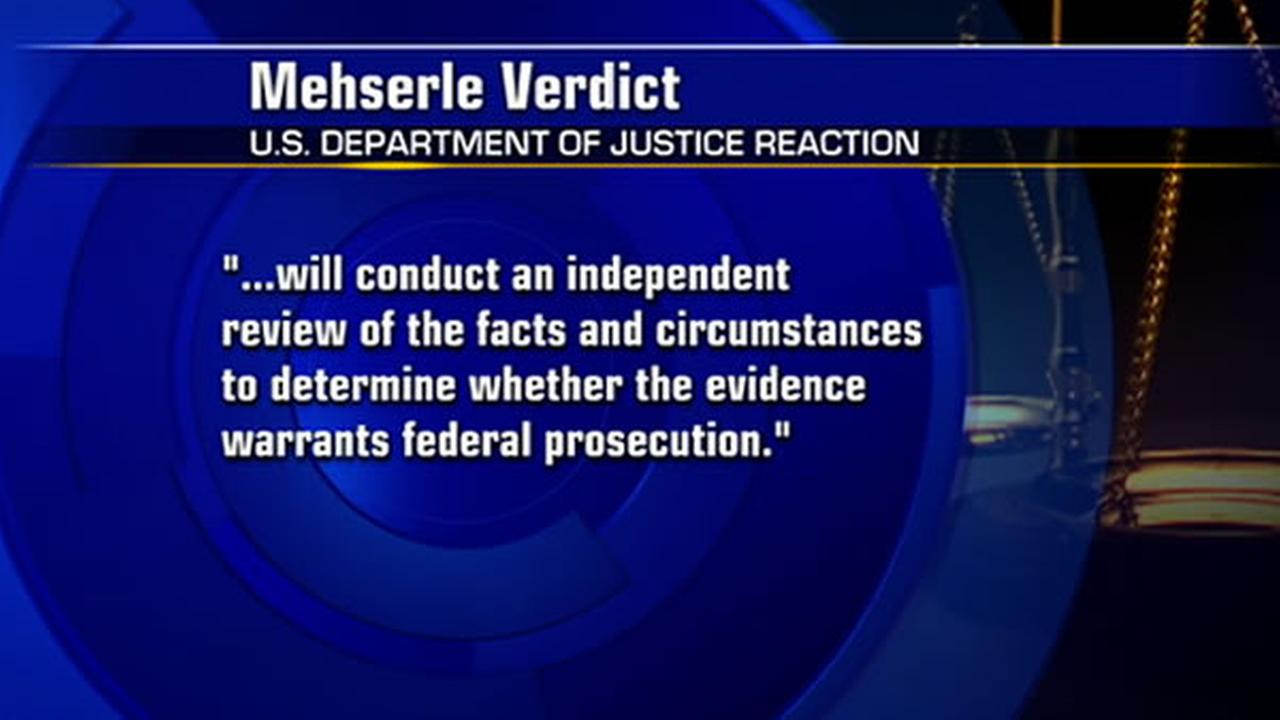 The DOJ will conduct an independent review of the Johannes Mehserle case.