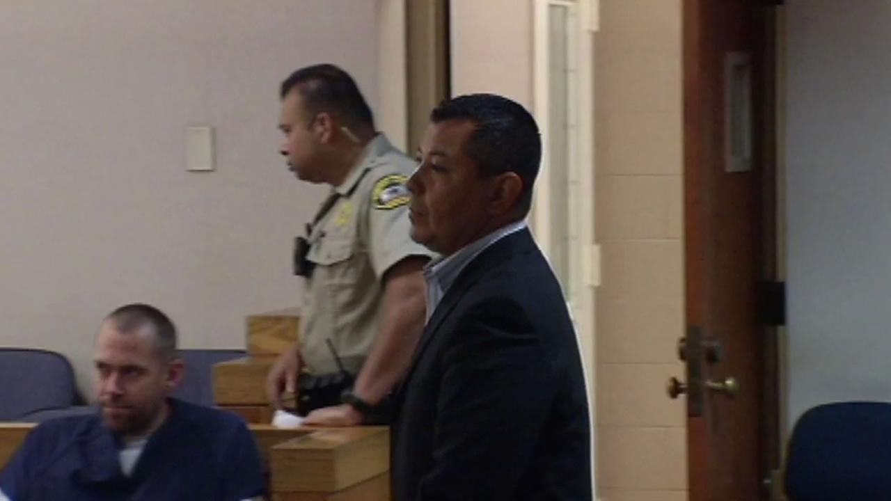 Miguel Angel Lopez appeared in a Sonoma County Court Monday, June 29, 2015 as a judge notified him that 19 additional criminal charges were added to his list of charges.