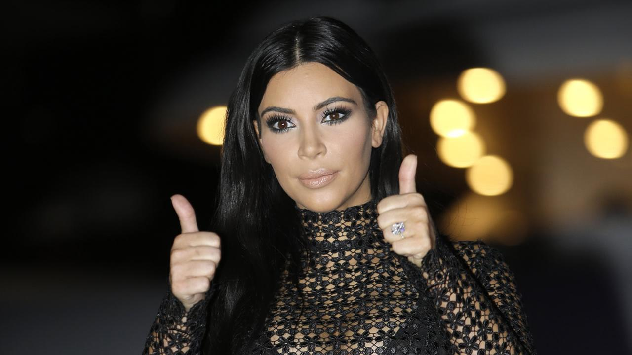 American television and social media personality, socialite and model Kim Kardashian poses during a photocall at the Cannes Lions 2015, on Wednesday, June 24, 2015.