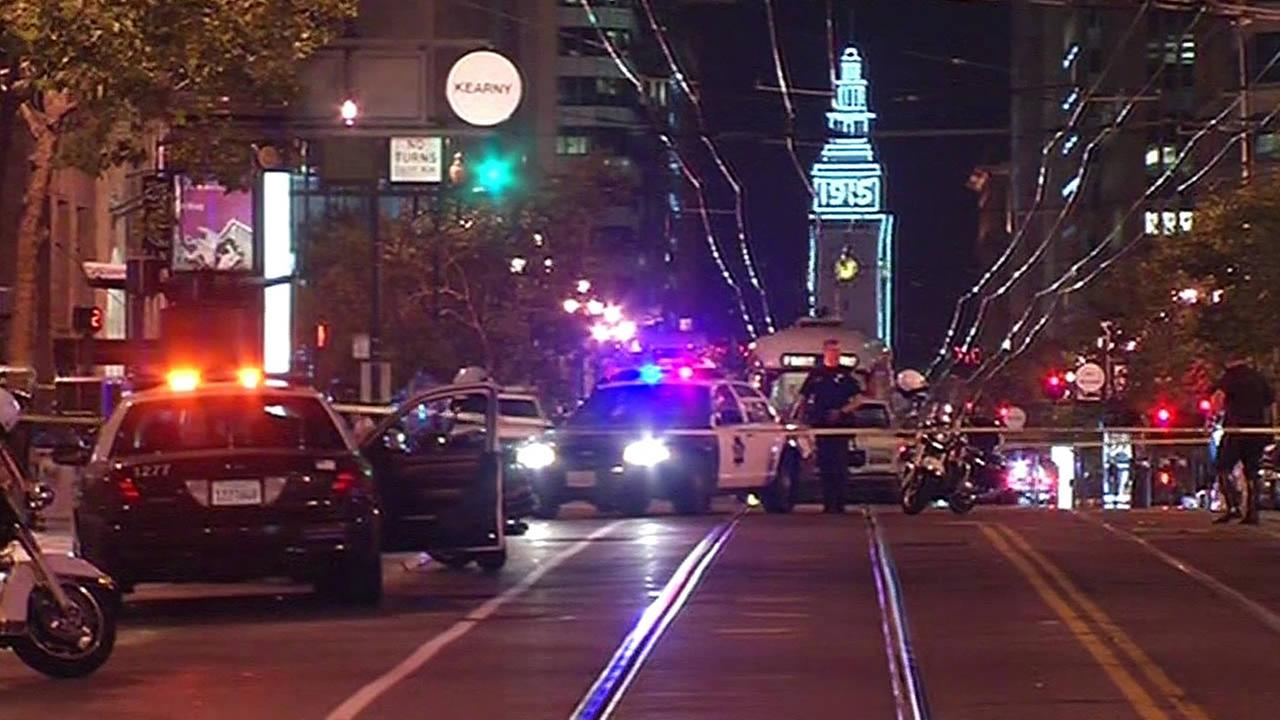 Police investigating pedestrian hit case on Market Street