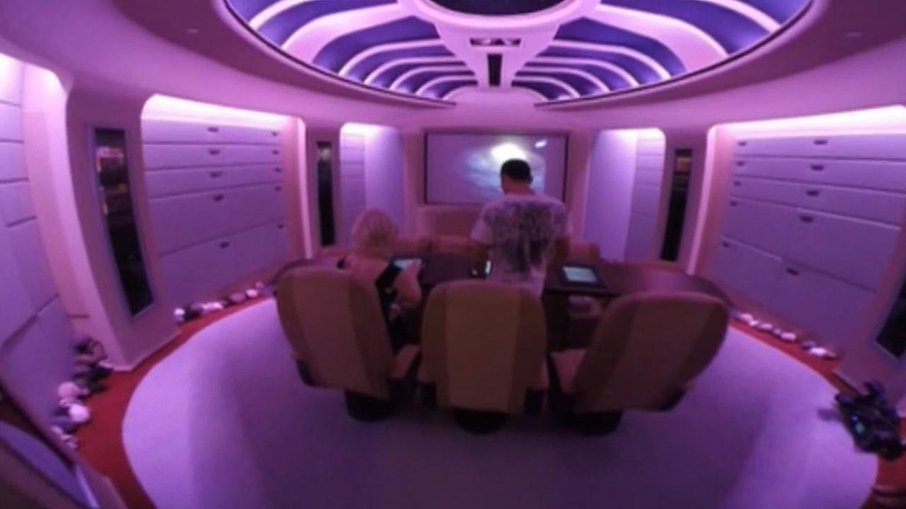 Star Trek home in Florida.