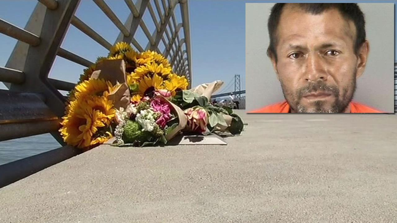 Francisco Sanchez has confessed to the murder of Kathryn Steinle at Pier 14 in San Francisco, July 3, 2015.