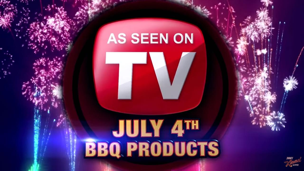 As Seen On TV - 4th of July BBQ Edition