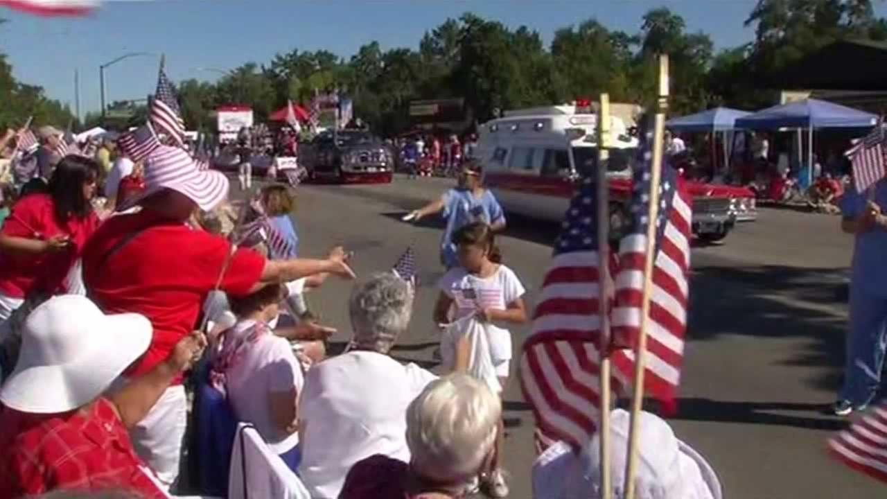 Danville, Calif. celebrates the 4th of July with their annual parade on Friday, July 4, 2014.