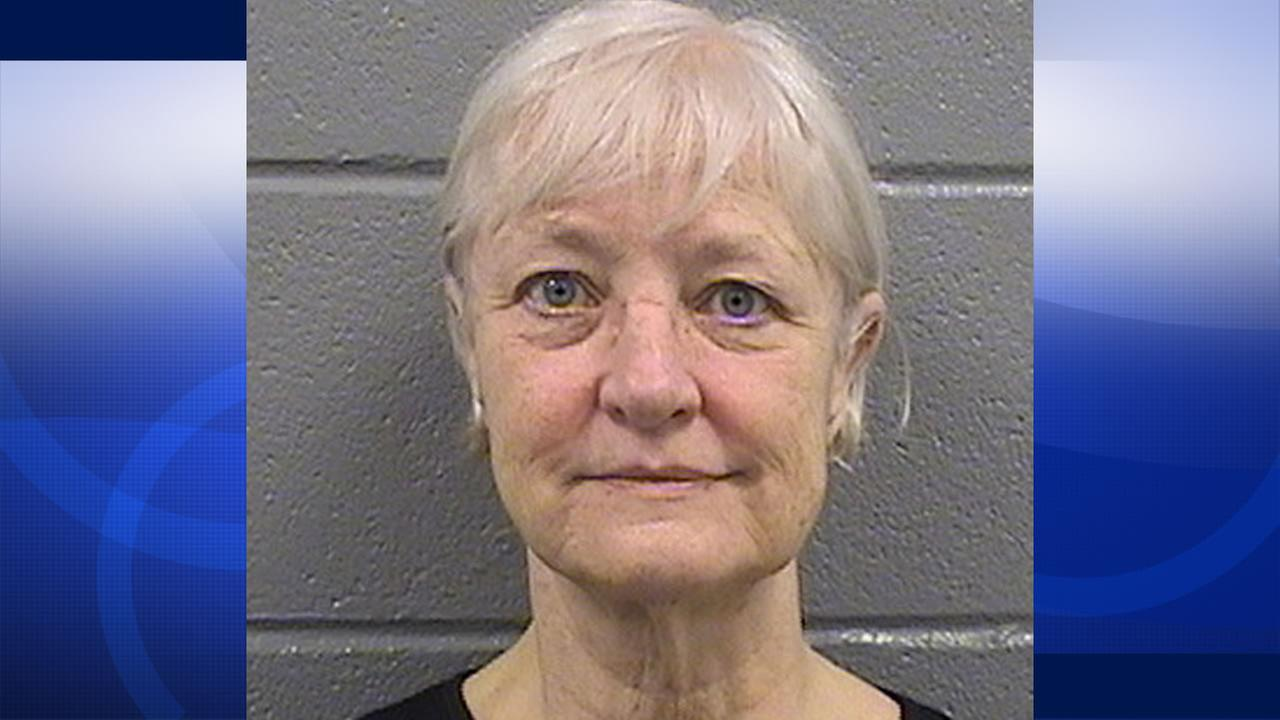 This undated booking photo provided by the Cook County Sheriffs Department shows 63-year-old Marilyn Hartman. Hartman was released from the Cook County Jail in Chicago on July 2, 2015. (Cook County Sheriffs Department via AP)