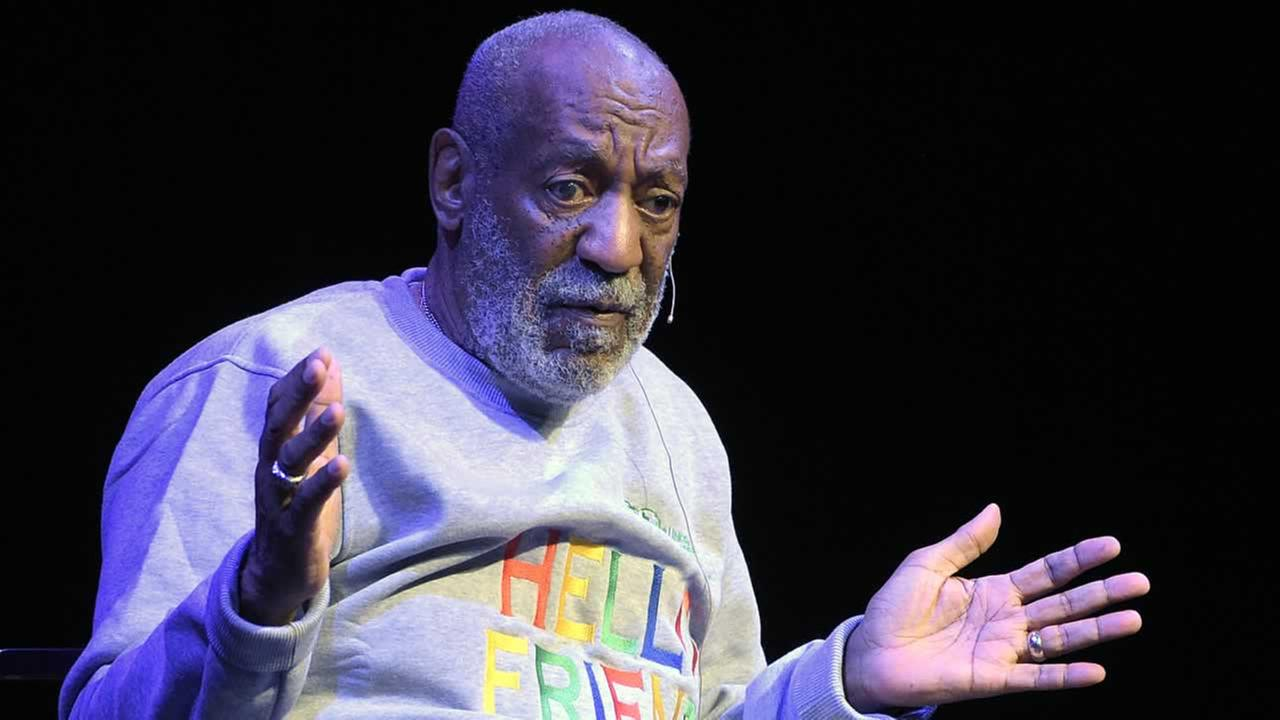 In this Friday, Nov. 21, 2014, file photo, comedian Bill Cosby performs during a show at the Maxwell C. King Center for the Performing Arts in Melbourne, Fla.