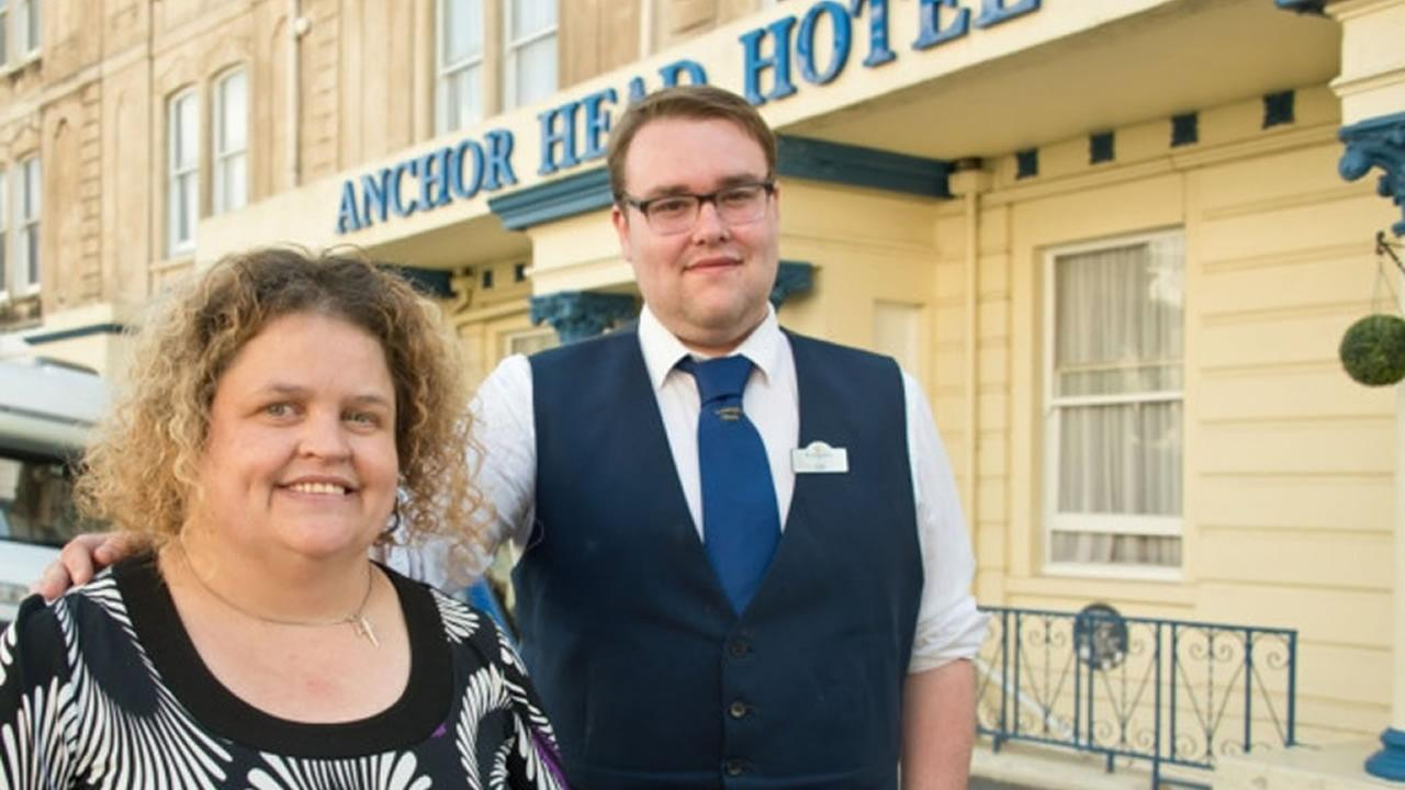A hotel worker in Sommerset, United Kingdom rescued Marie Lord, a woman who sleepwalked into the sea near her home, before she succumbed to hypothermia, July 6, 2015.