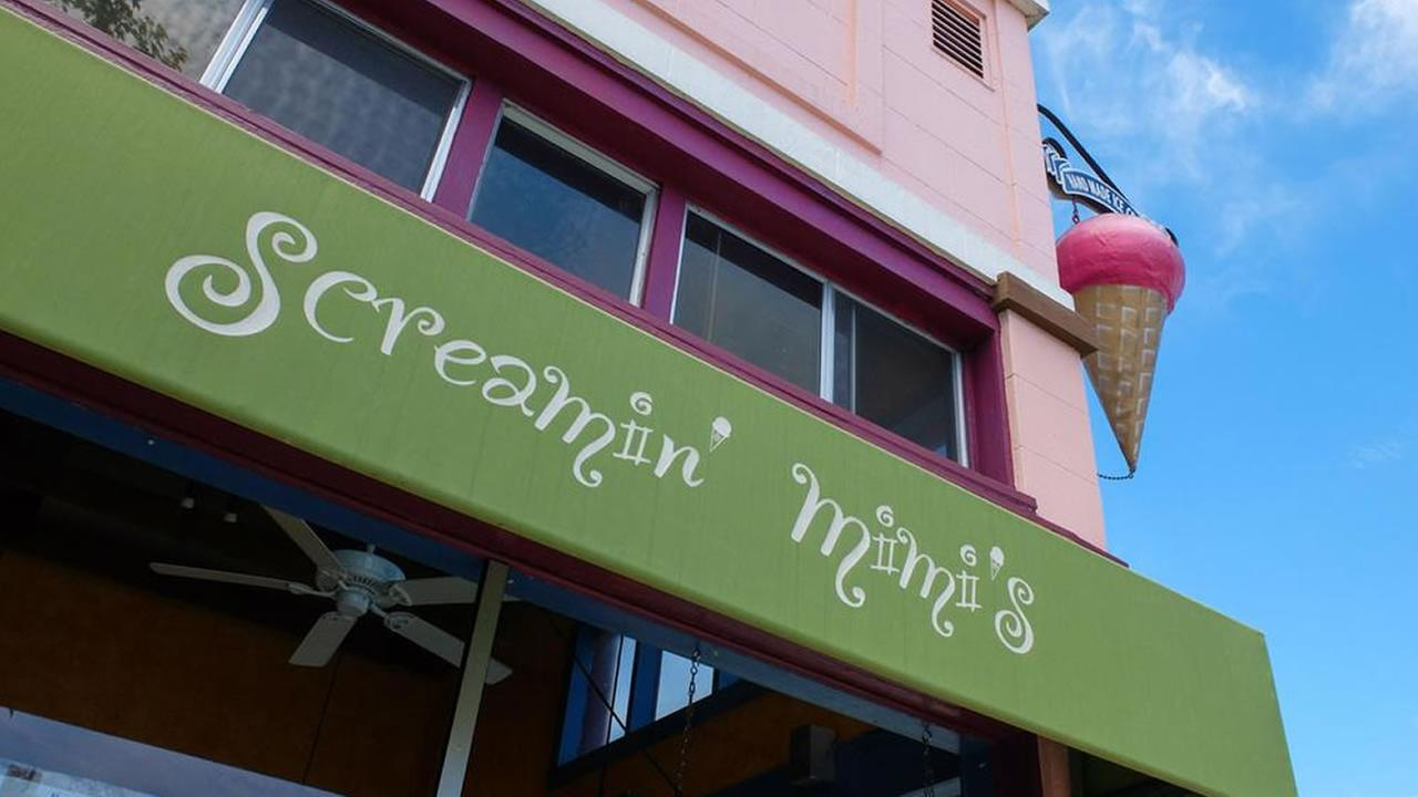 Screamin Mimis ice cream shop in Sebastopol, July 6, 2015.