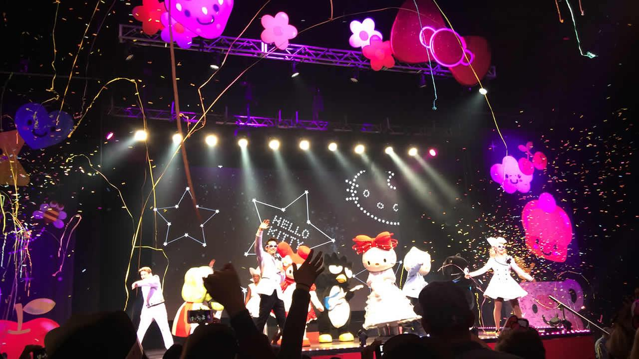 Fans of all ages enjoyed the Hello Kitty Supercute Friendship Festival in Oakland, Calif. on Sunday, July 12, 2015.