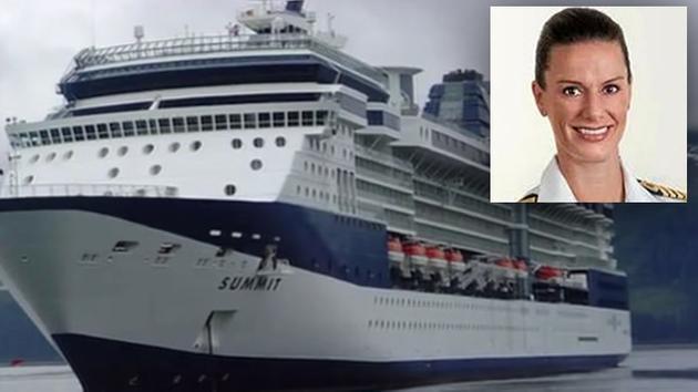 San Francisco Native Kate McCue First American Woman To Man Cruise - Captain on cruise ship