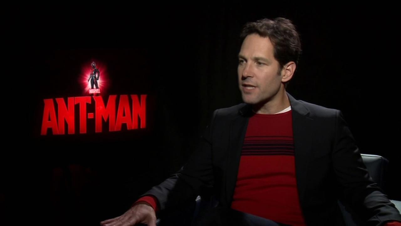 Paul Rudd discusses his role in the latest addition to the Marvel universe -- Ant-Man.