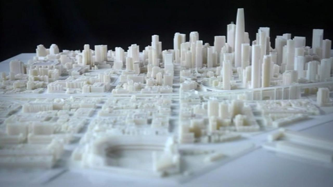 Autodesk and Steelblue partnered to create a cream-colored vision of what SF will look like in 2017.