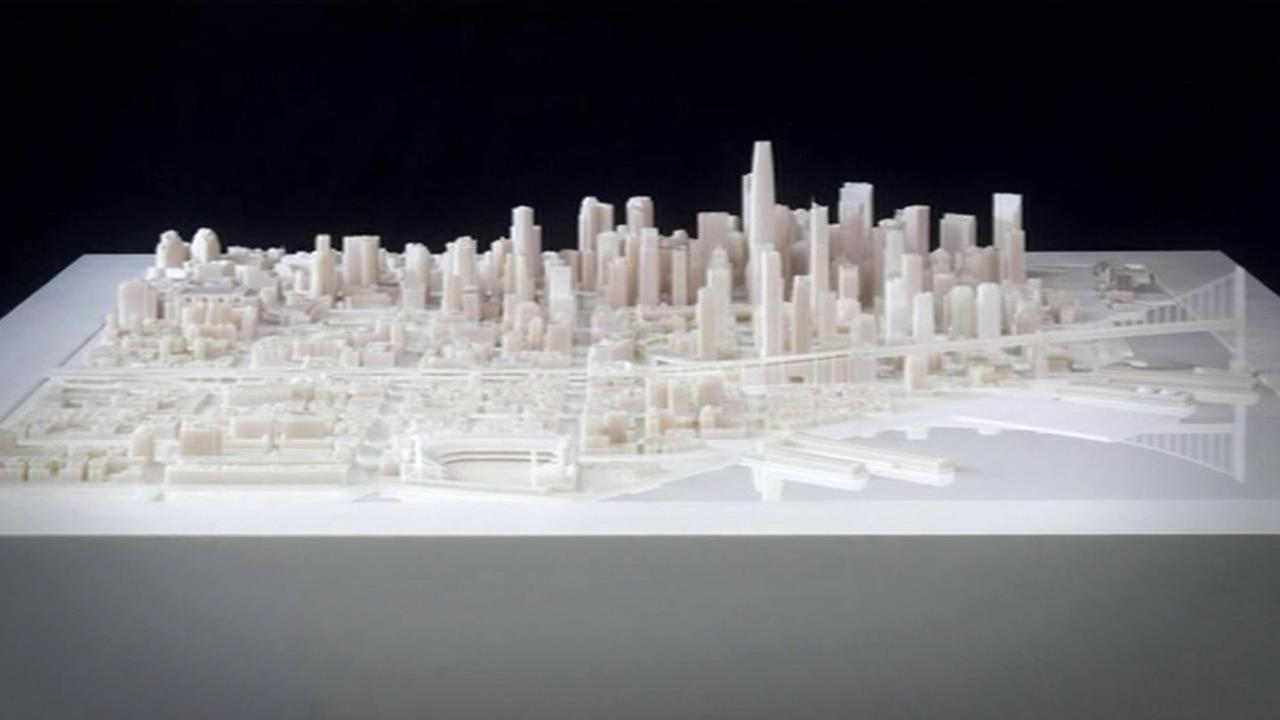 A 3D printing project is giving us a model look at the San Francisco of the future.