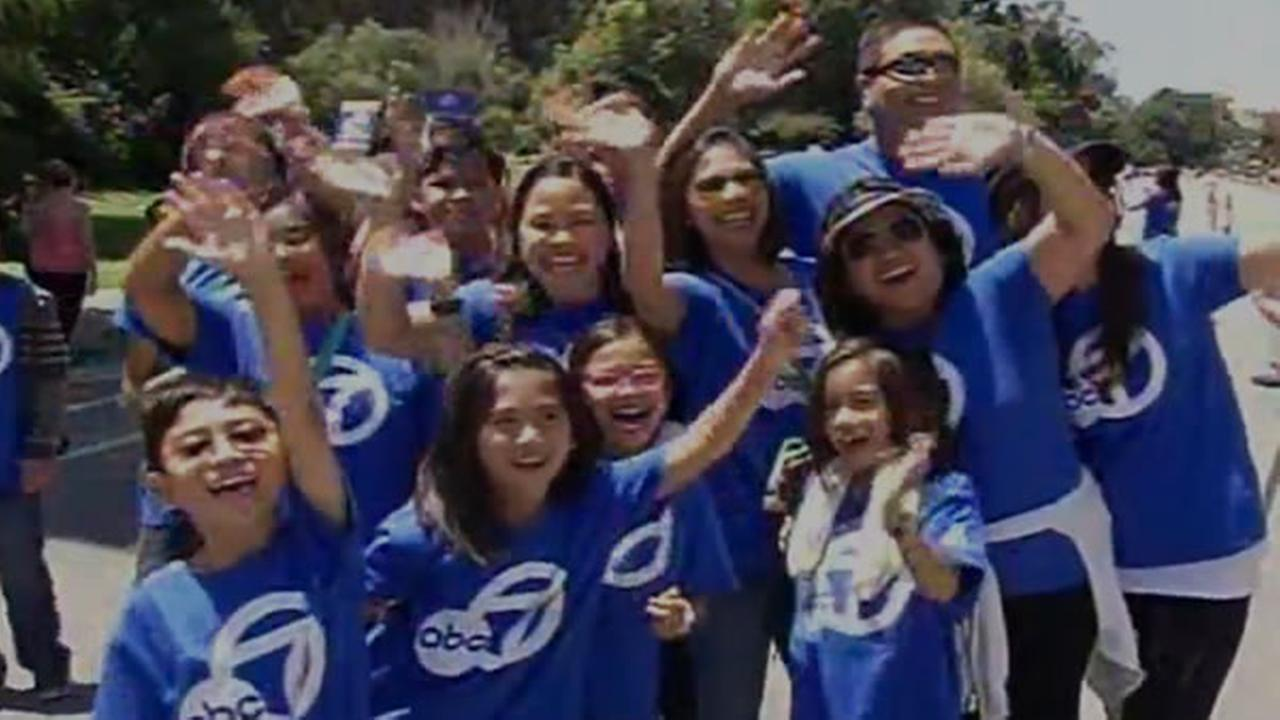 The ABC7 News team is at AIDS Walk San Francisco in Golden Gate Park on Sunday, July 19, 2015.KGO-TV