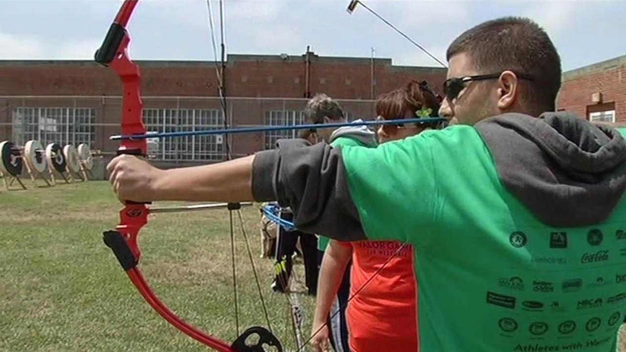 Hundreds of disabled veterans take part in Valor Games