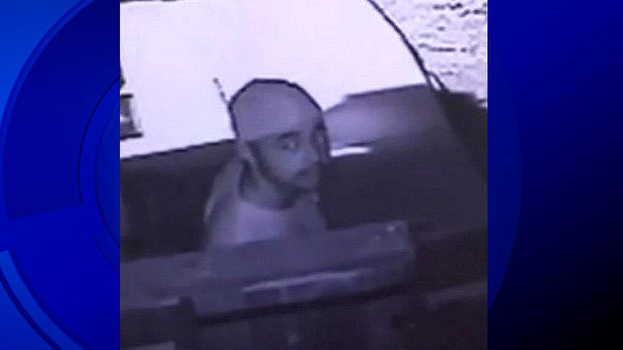 FILE - Police release surveillance video of an attempted burglary suspect at a Morgan Hill home in this undated image.