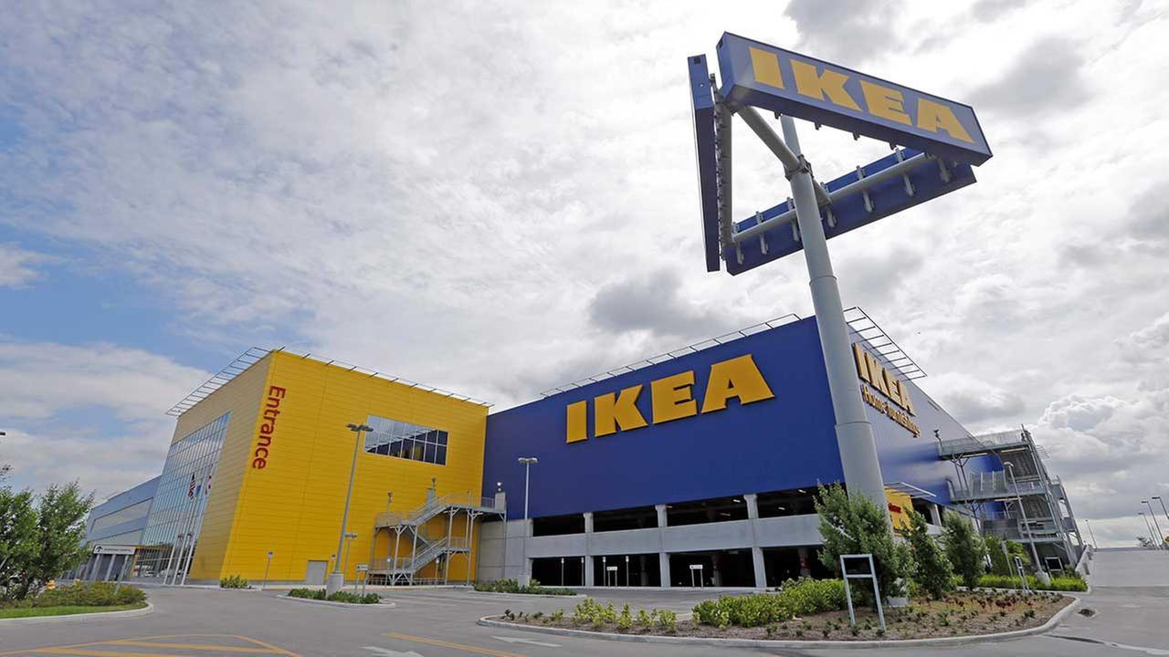 This photo taken Wednesday, June 3, 2015, shows an IKEA store in Miami. (AP Photo/Alan Diaz)