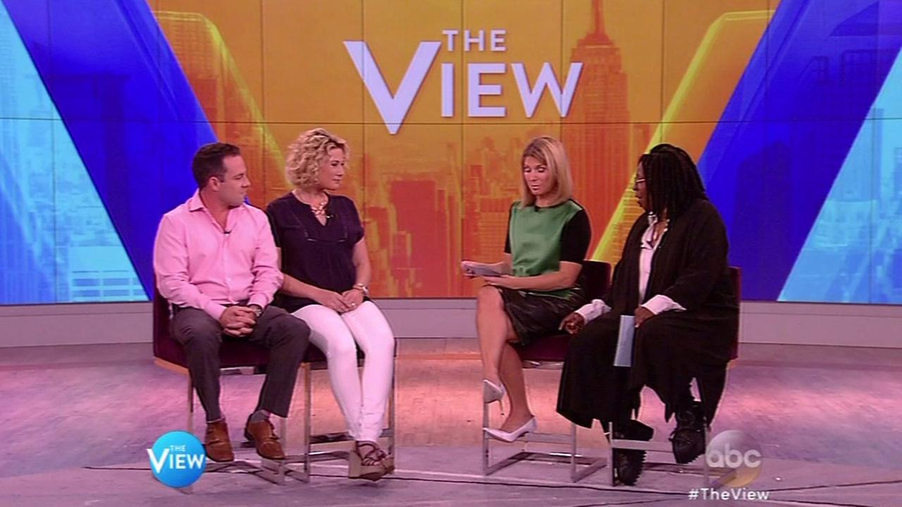 Brad Steinle, brother of Kate Steinle, talks to Whoopi Goldberg and Nicolle Wallace on The View.